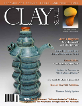 Janis Hughes Clay Times Cover